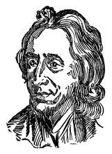 John Locke, Vintage Illustration