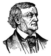 Wilhelm Richard Wagner, Vintage Illustration