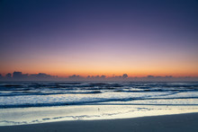 Daytona Beach Before Sunrise, Daytona Beach, Florida, USA