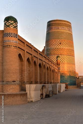 Kalta Minor Minaret - Khiva, Uzbekistan Wall mural