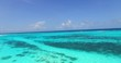 turquoise wide open sea of maldives