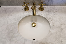 Sink Made Of Expensive Marble ...