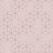 Vector Seamless Hexagon Backgr...