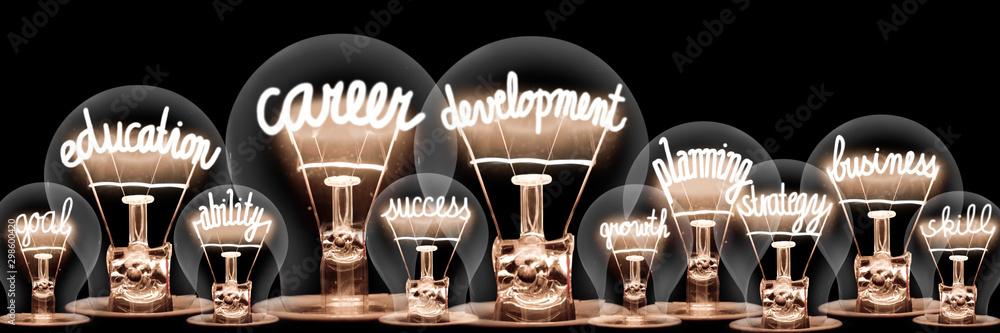 Fototapeta Light Bulb Concept