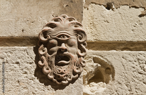polyphemus polifemo mask greek myth Canvas-taulu