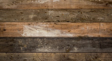 Texture Of Old Wood Planks Wall