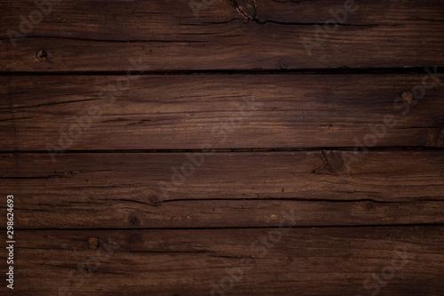 Fotografia, Obraz  Bonita composicón navideña sobre fondo marrón de madera