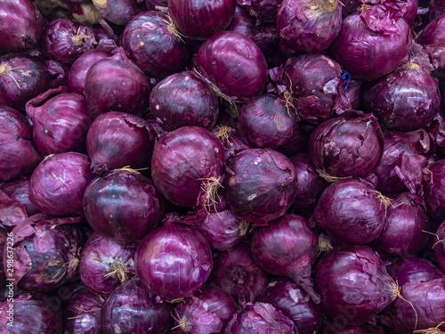 Fotografija  Red or purple onions, vegetable