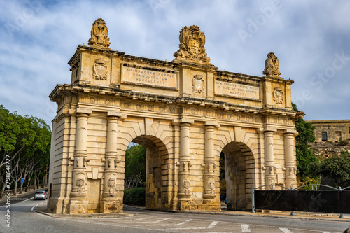 Portes des Bombes Gate in Malta