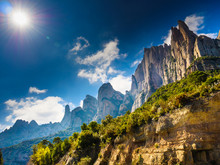 Mountain Of Montserrat, Catalonia Spain.