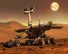 Mars Rovers Landed.Elements Of...