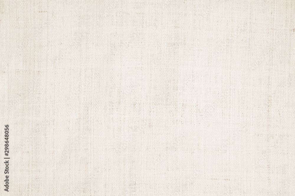 Fototapety, obrazy: Cream abstract cotton towel mock up template fabric on background. Cloth Wallpaper of artistic grey wale linen canvas. Cloth Blanket or Curtain of pattern and copy space for text decoration.