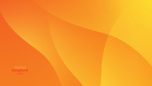 Warm Tone And Orange Color Background Abstract Art Vector