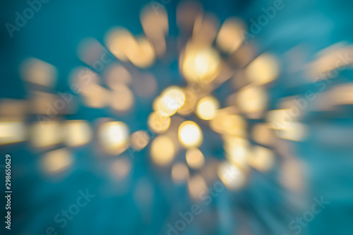 Bokeh background , colorful blurred lights, abstract pattern, photoshop layer Wallpaper Mural