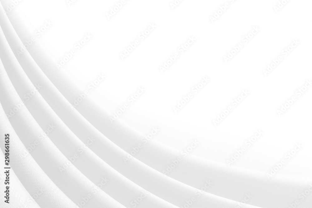 Fototapety, obrazy: White cloth texture for background .abstract of soft waves.