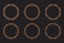 Abstract Circle Ornamental Col...