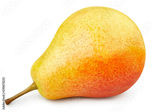 One fresh pears clipping path Tapéta, Fotótapéta