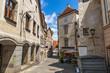 Street in Steyr - a town in Austria.