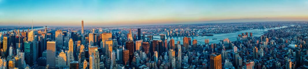 Panel Szklany Nowy York Manhattan skyline