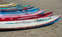 Colorful Kayak On The Beach