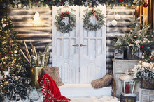 Winter Rustic Interior Decorat...