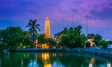 Tran Quoc Pagoda In Hanoi, Vie...