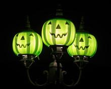 Halloween Pumpkin Light Fixtur...