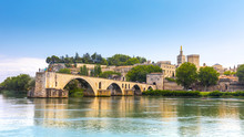 Saint Benezet Bridge In Avigno...