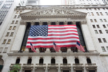 New York Stock Exchange With A...