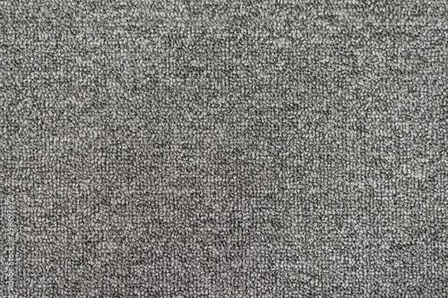 Seamless generic grey carpet background texture. Canvas Print