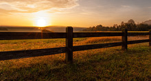 Split Rail Fence Around North ...