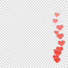 Social Media Likes Heart For Marketing Design