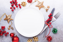 Christmas Table Place Setting ...