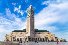 View Of Hassan II Mosque Again...