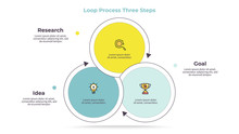 Business Infographics. Circle ...