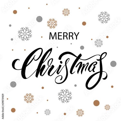 Fotomural  Merry Christmas