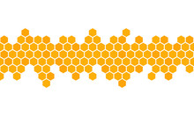 Honeycomb Background. Hexagon ...