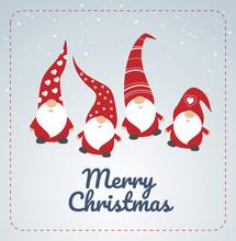 Christmas Card With Seasons Gr...