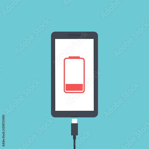 Cuadros en Lienzo Mobile smartphones charging