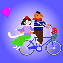 Vector Graphics. Romantic Swee...