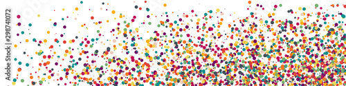 Obraz Colorful Universe Distribution Computational Generative Art background illustration - fototapety do salonu