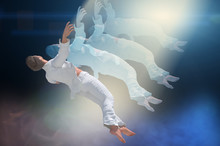 Soul Leaving The Body Upon Death . Meditation And Dream Concept 3d   Render