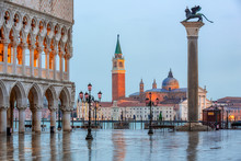 Piazza San Marco At Dusk, View...