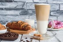 Delicious Sweet Breakfast. Lat...