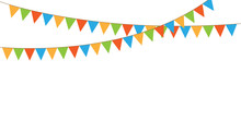 Colorful Party Pennants Chain,...