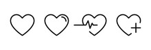 Heart Icon In Linear Design Is...