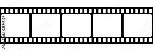 Film strip isolated vector icon Canvas-taulu