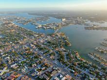 Aerial View Of St. Petersburg ...