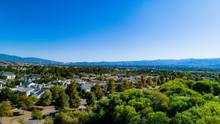 Los Angeles Suburb- Santa Clarita Aerial View