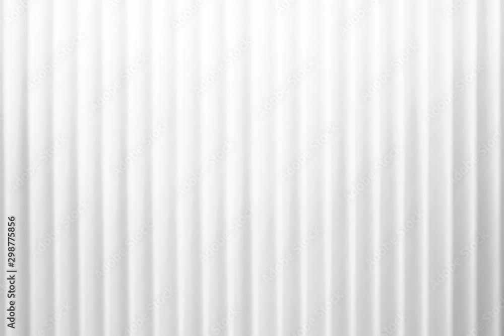 Fototapety, obrazy: Pure white background with strip line pattern
